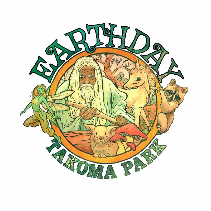 EarthDay Logo White BG